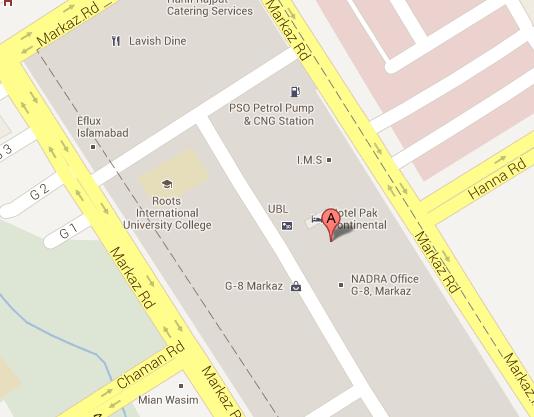 Zahaq Associates (Pvt.) Ltd Islamabad Office address